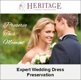 Preserve your wedding day forever with expert wedding dress preservation