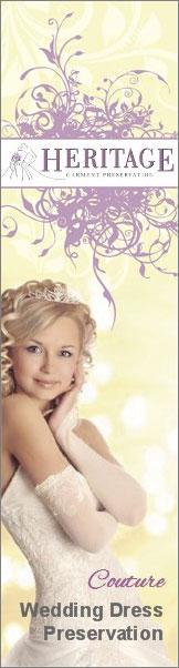 Pamper your wedding dress with expert wedding dress preservation