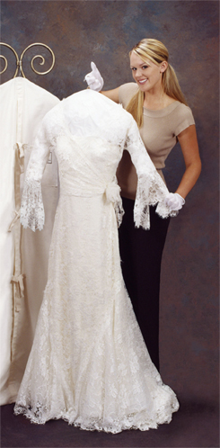 Wedding dress preservation and cleaning the dress shop for Where to get wedding dress cleaned and preserved