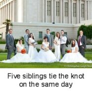Five Siblings Tie The Knot on Same Day
