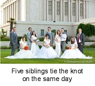 Five Siblings Marry On the Same Day