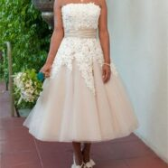 Love At First Sight for Vintage Style Wedding Dress