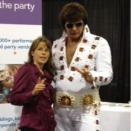 We Met Elvis In Vegas at Wedding MBA