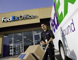 FedEx provides safe secure shipping