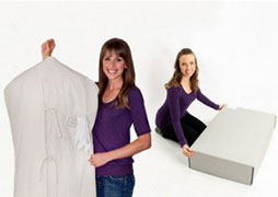 You have Wedding Dress Preservation Method Choices. Choose Museum Method or Heritage Box.