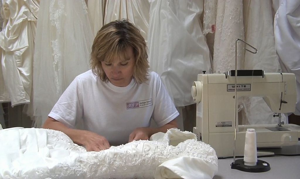 Hgp Wedding Dress Cleaning And Preservation Processes