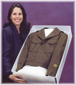 heirloom garment preservation includes uniforms