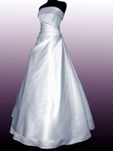 Your wedding dress will be spotless with our expert wedding dress cleaning