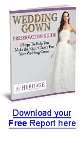 Read 5 Steps For Best Wedding Dress Preservation