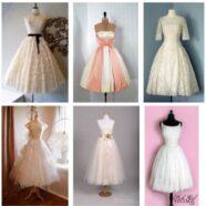 1950 Vintage Wedding Dresses