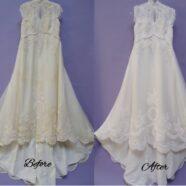 Ann's Wedding Gown Restoration
