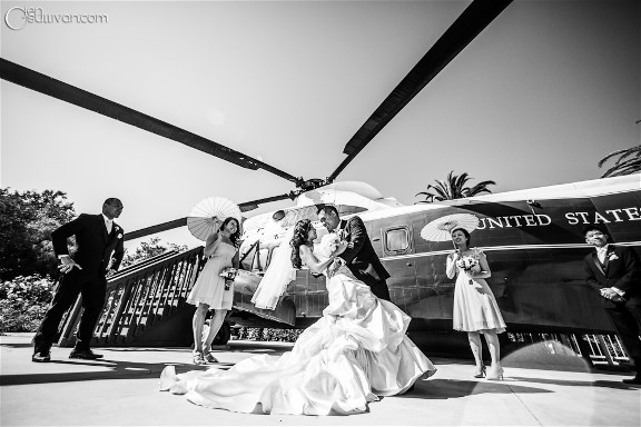 Jamie Lams wedding dress story - fun pic