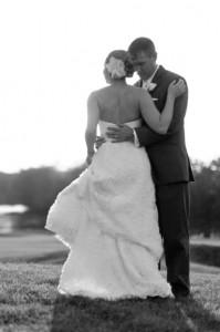 Samantha's perfect wedding dress