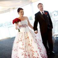 Cherry Blossomed Bride