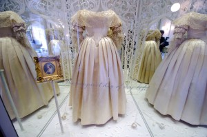 Queen Victoria Wedding Dress Exhibit