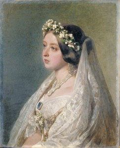 Queen Victorias wedding dress