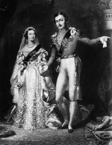 Queen Victorias wedding dress for wedding with Prince Albert