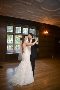 Jennifer and husband's first dance