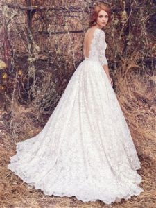 Maggie Sottero Cordelia wedding gown is exuisite