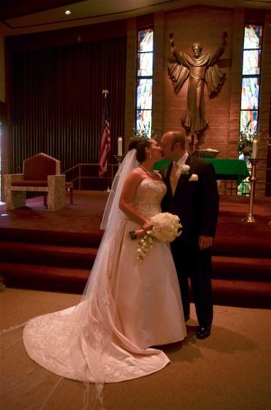 Blairs beautiful wedding dress