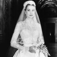 A Royal Glimpse of Grace Kelly's Wedding Dress