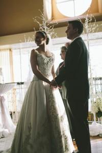 Lyndy found her wedding dress at  Bridals by Lori in Atlanta