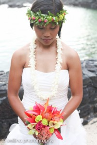 Laura married her sweetheart in Hawaii.