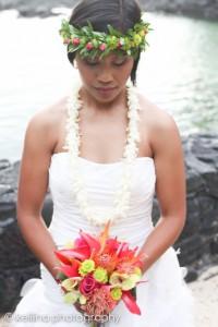 Laura married her sweetheart in Hawaii.