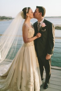 Lyndy and her husband had the perfect wedding day.