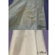 Finally, Pat's Wedding Dress is Clean