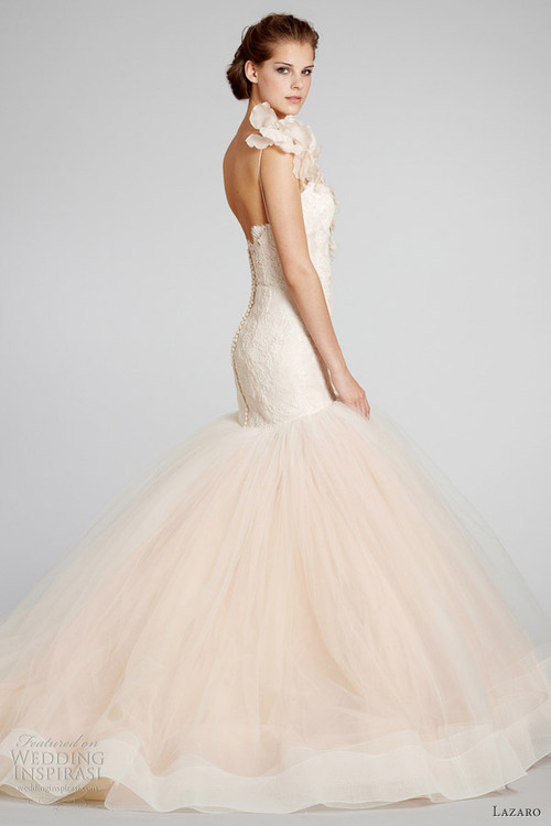 Our Top Ten Blush Wedding Dresses