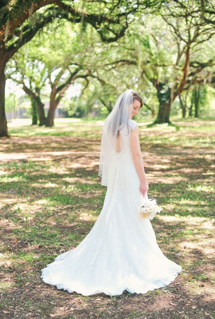 Caroline was able to get this Maggie Sottero for 40% off.