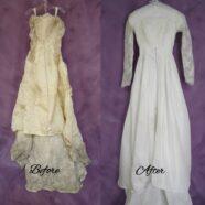 Beautiful Edwardian Silk Gown Renewed