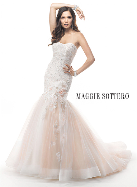 Photo courtesy of Maggie Sottero.