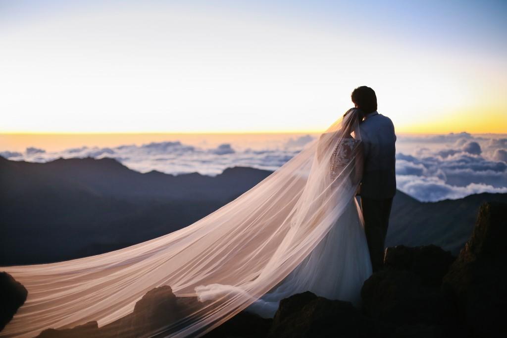 Edelwisa was married in Hawaii earlier this year.