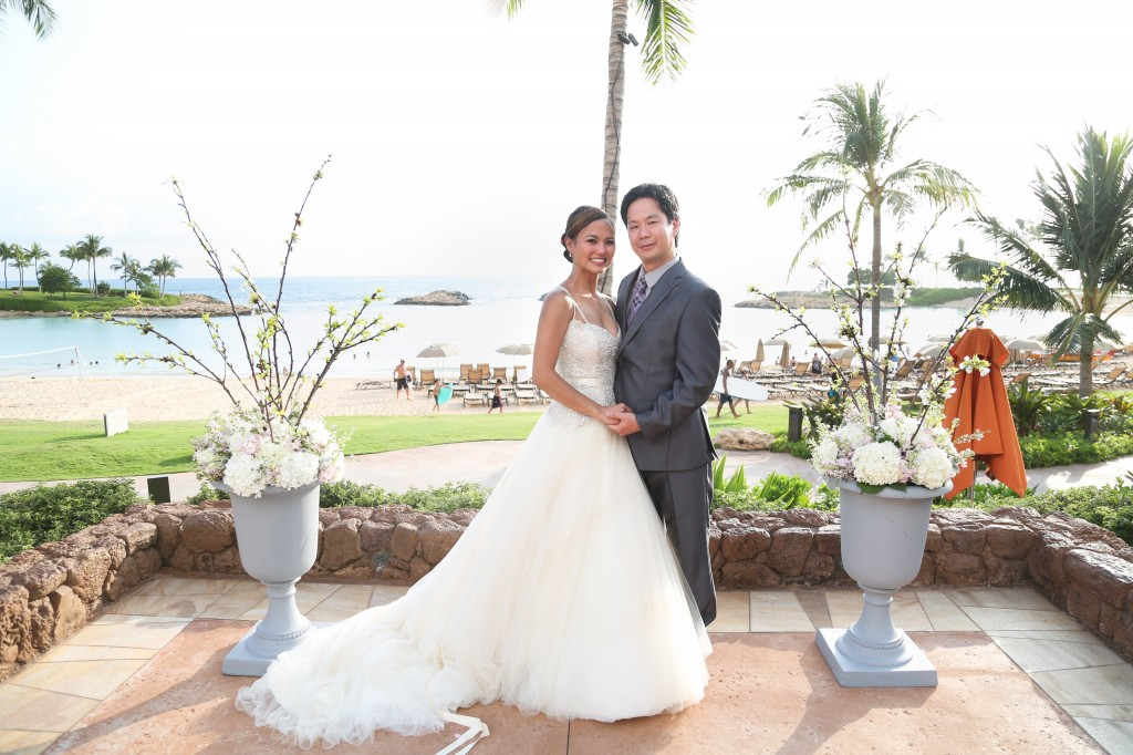 Edelwisa married Tetsuya in May.