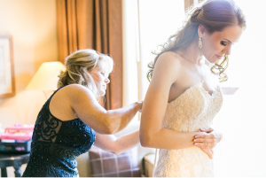 Caitlin had the perfect wedding day.
