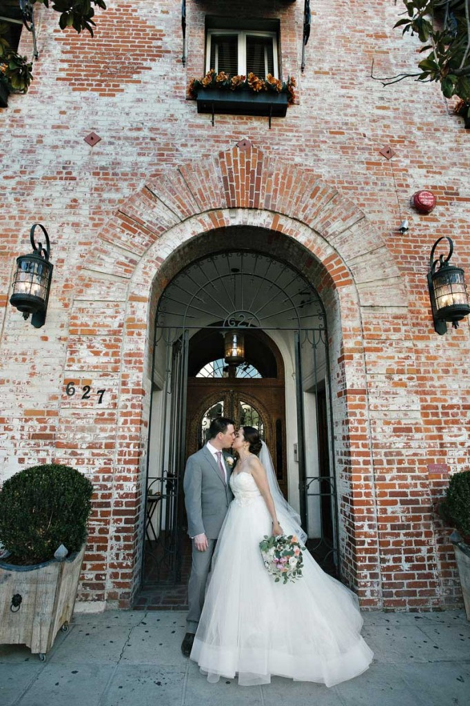 Lindsay had a beautiful wedding day wearing what she wanted and marrying who she wanted.