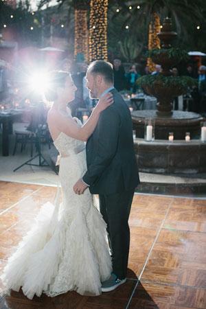 Lauren Martinez perfect wedding dress
