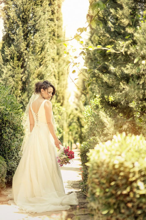 Tarisa found her perfect wedding gown
