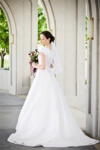 Katy's sister Cindy wears wedding dress third