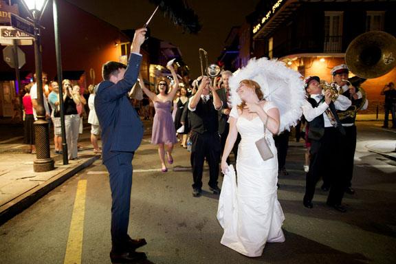 More celebrating Robin's wedding in Louisiana