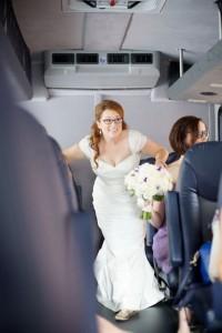 Robin N. on wedding day