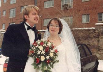 Jay Thorson wedding to Beth Cunningham