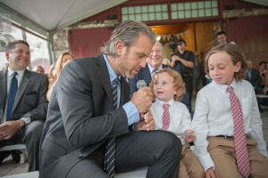 Photo: Bring the Family Together with Guest Wedding Vows