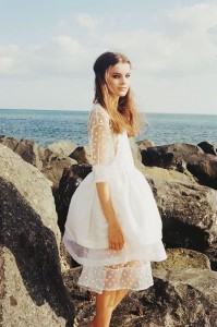 Photo: Short Wedding Dress