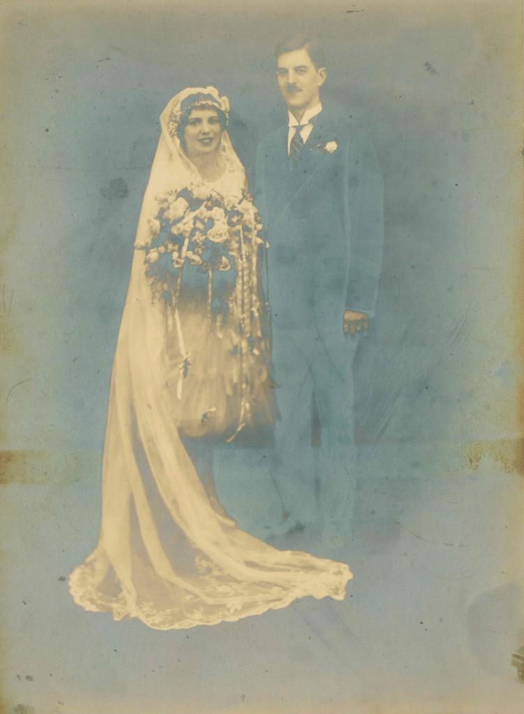 Grandparents photo – Walter Ungerbuehler and Palmira Klaproth  (June 1928)