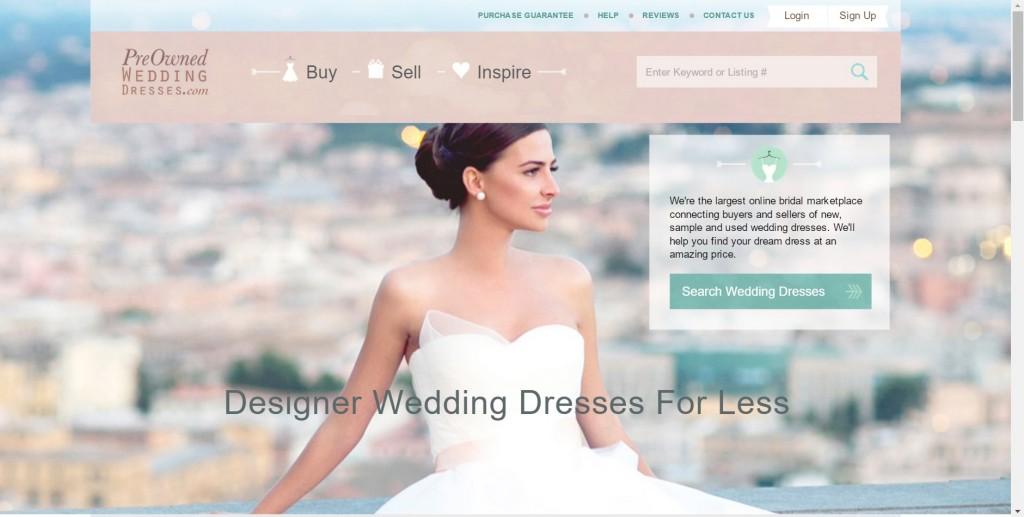 PreOwnedWeddingDresses.com: Consignment Wedding Dresses