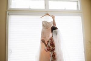 Wedding dress preservation for Danica