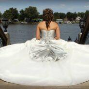 Hillary W.'s Wedding Dress Story: 1st Time's a Charm